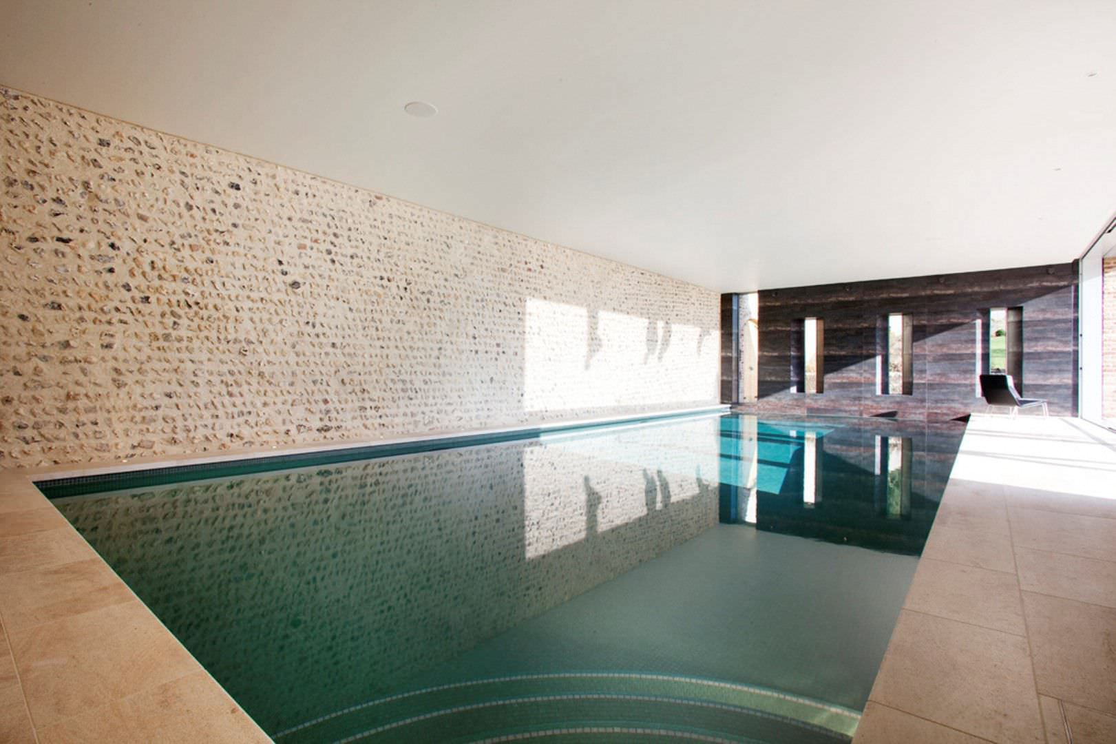 Public Swimming Pool Design In Ground Swimming Pool Concrete Indoor East Sussex