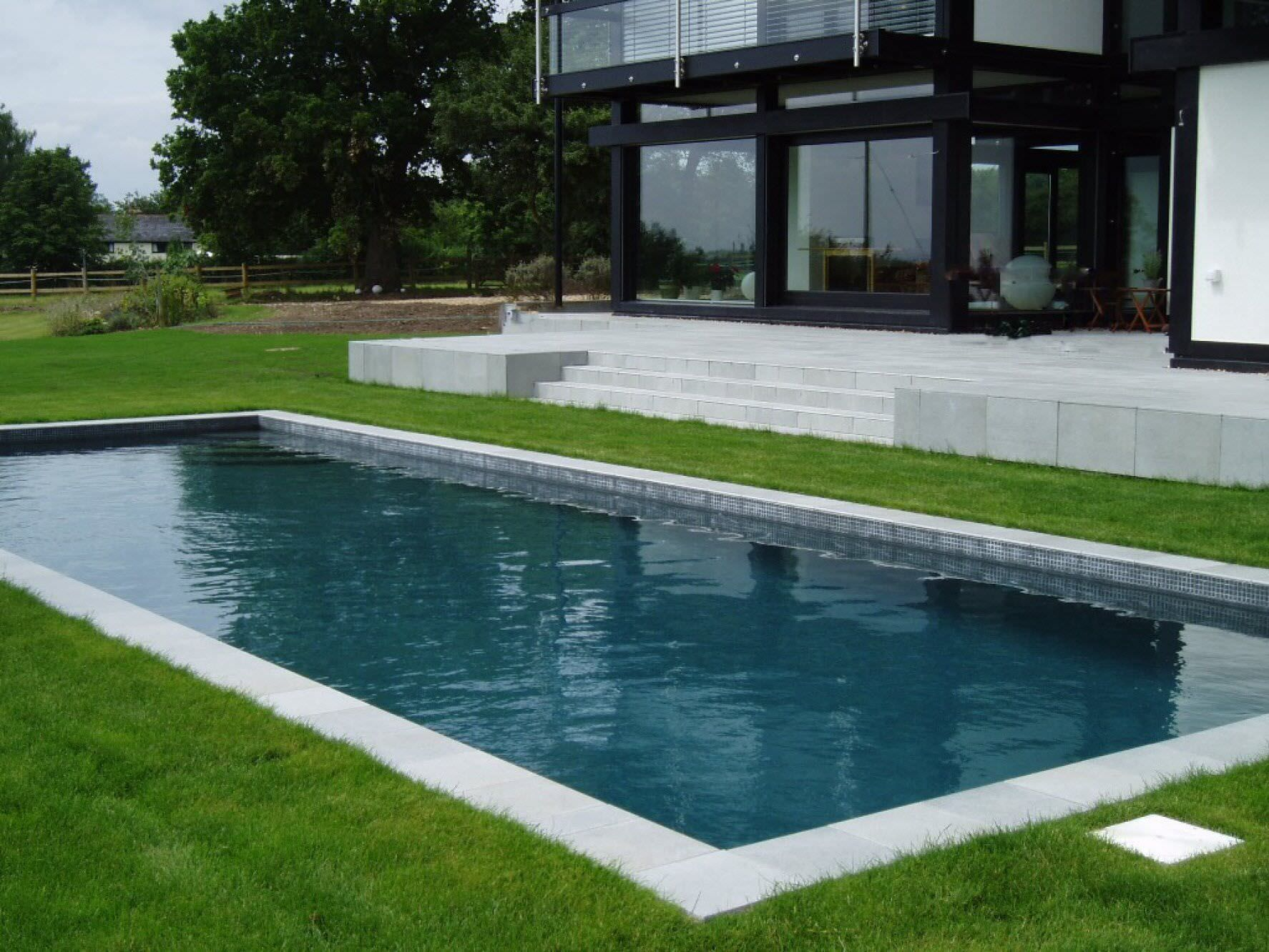In-ground swimming pool / concrete / outdoor - UNIQUE - GUNCAST ...