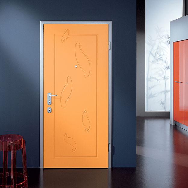 Entry door / swing / wooden / security - JUNIOR - Di Bi  Porte Blindate