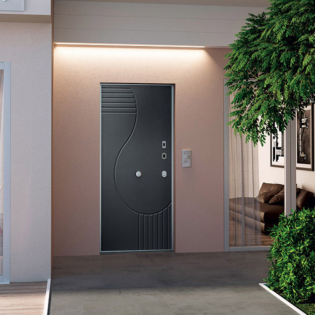 Entry door / swing / steel / security - OPENTECH - Di.Bi. Porte Blindate