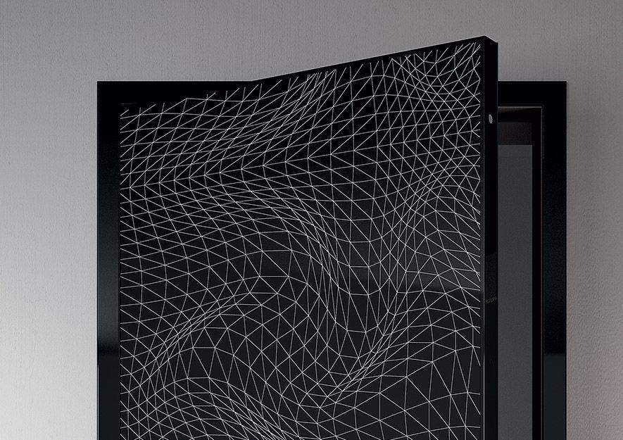 Indoor door / swing / steel / security - ESSENZIA - Di.Bi. Porte ...
