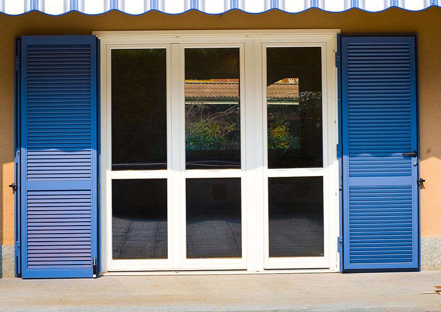 Swing shutters / steel / window / acoustic - VESTA - Di.Bi. Porte ...