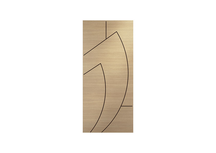 Construction plywood panel / for doors - DIBIINTARSIO by Raffaele ...