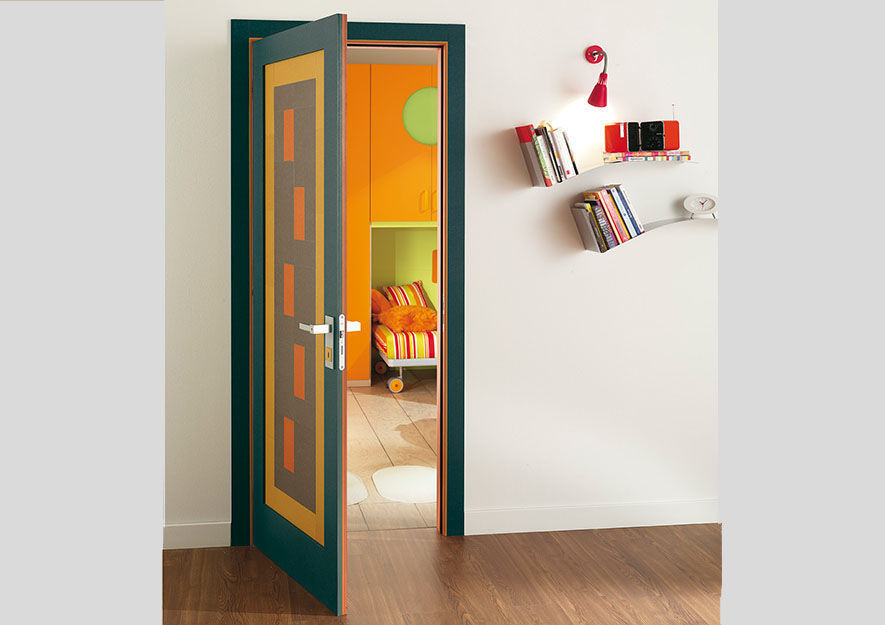 Indoor door / swing / wooden / decorative - DIBIDOKU - Di.Bi. Porte ...
