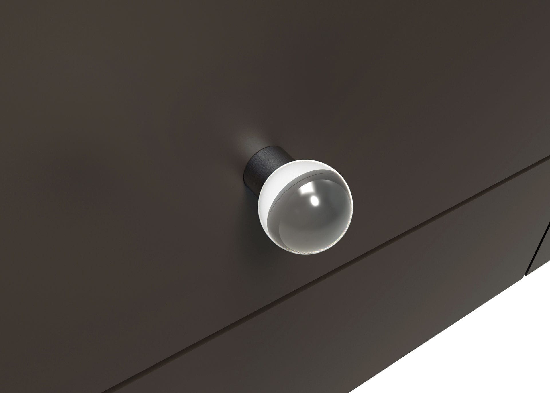 Contemporary Furniture Knob / Crystal   SPHERE PROJECTS