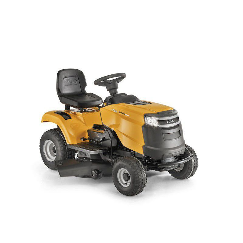 Ride On Lawn Mower Gasoline Collecting For Large Areas