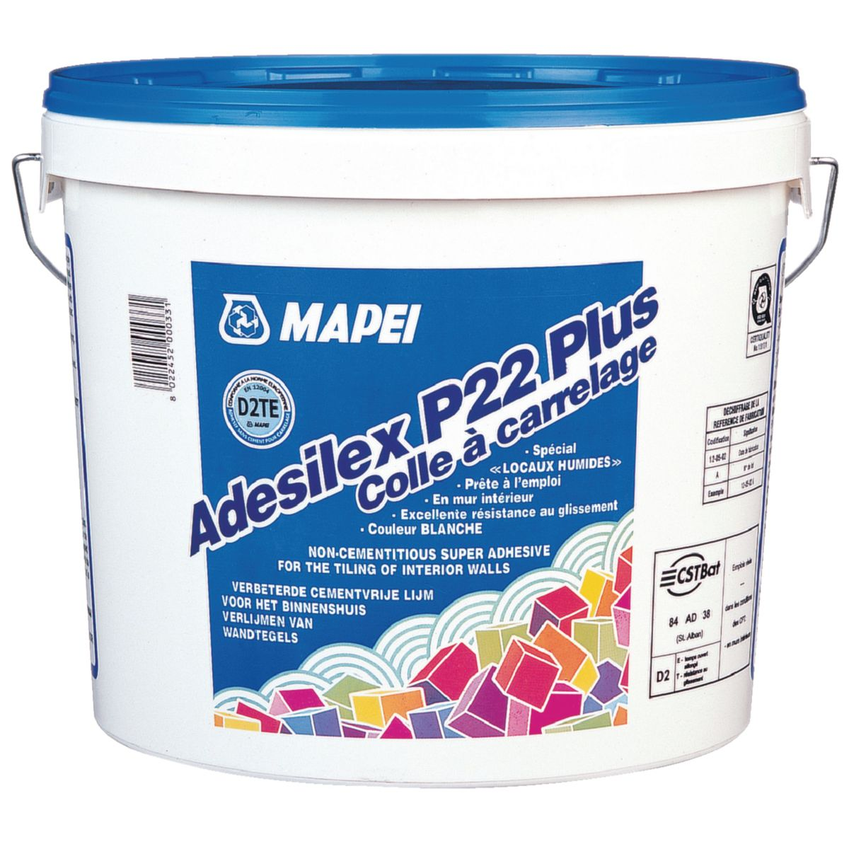 c82b25dd4d5 Tile adhesive paste - ADESILEX P22 PLUS - MAPEI FRANCE