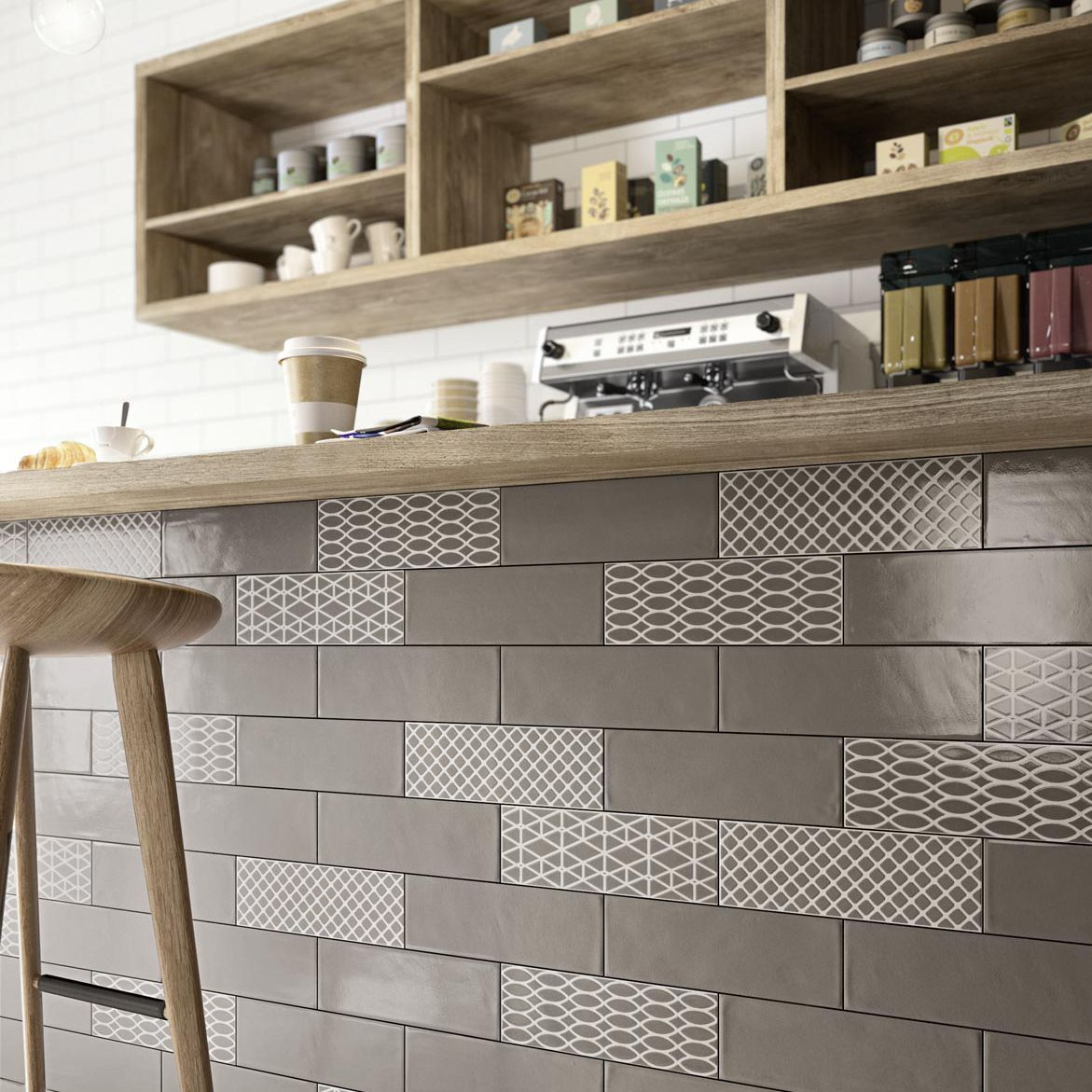Kitchen Wall Tiling Bathroom Tile Kitchen Wall Ceramic Brick Glossy Ragno