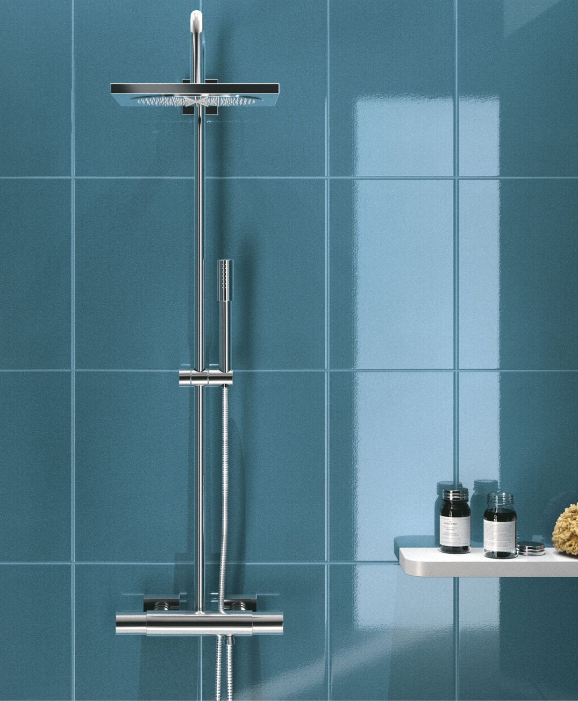 Bathroom tile / wall / ceramic / plain - CIRCUS - Ragno
