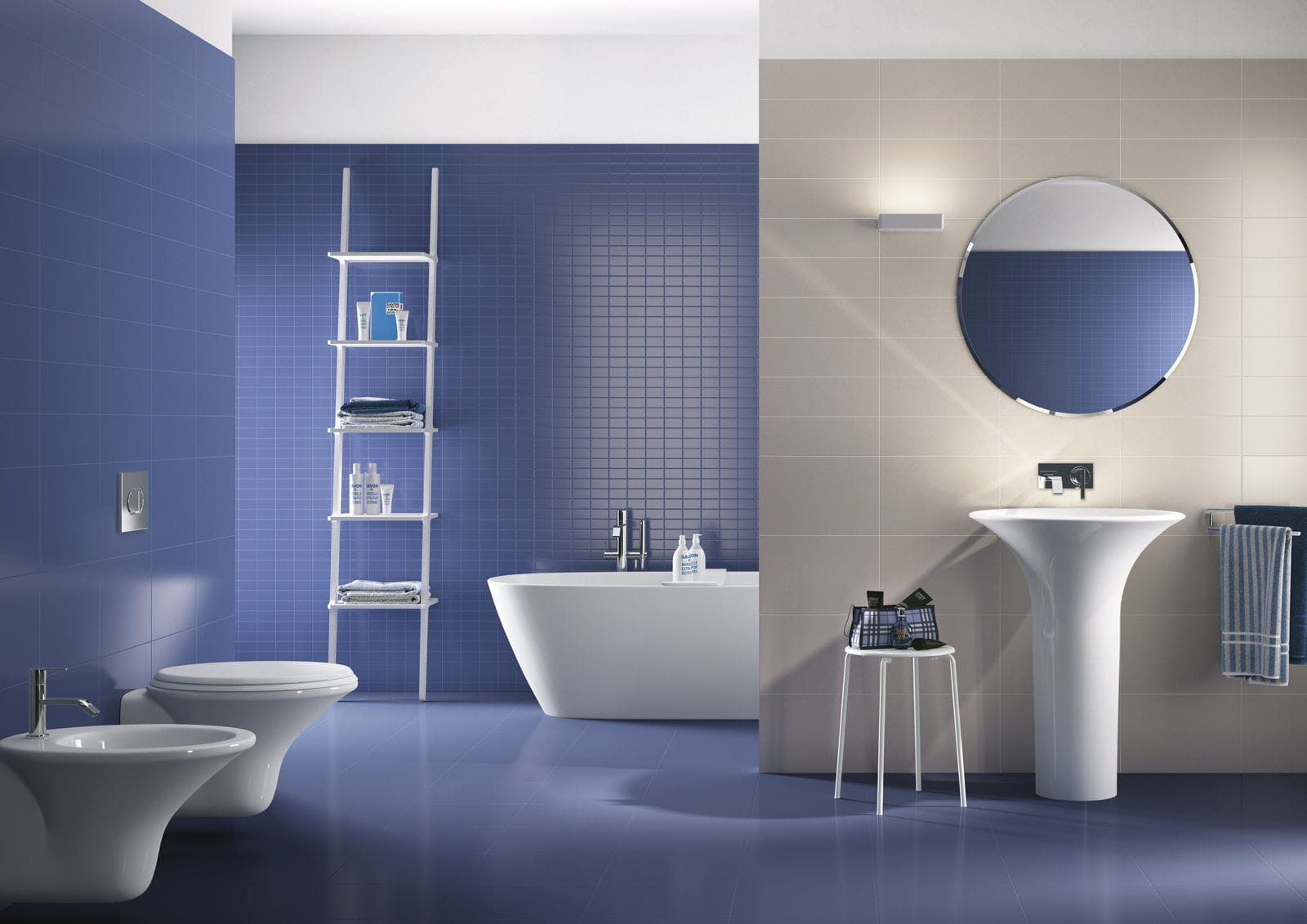 Bathroom tile / kitchen / wall / ceramic - COLOURS - Ragno