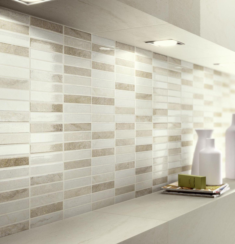 Piastrelle bagno mosaico beige: bagno privato paviceramica ...