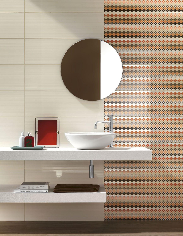 Bathroom tile / wall / ceramic / high-gloss - SMART - Ragno - Videos