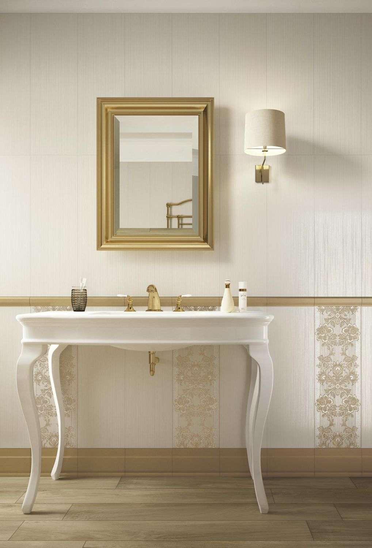 Bathroom tile / wall / ceramic / rectangular - WALLPAPER - Ragno