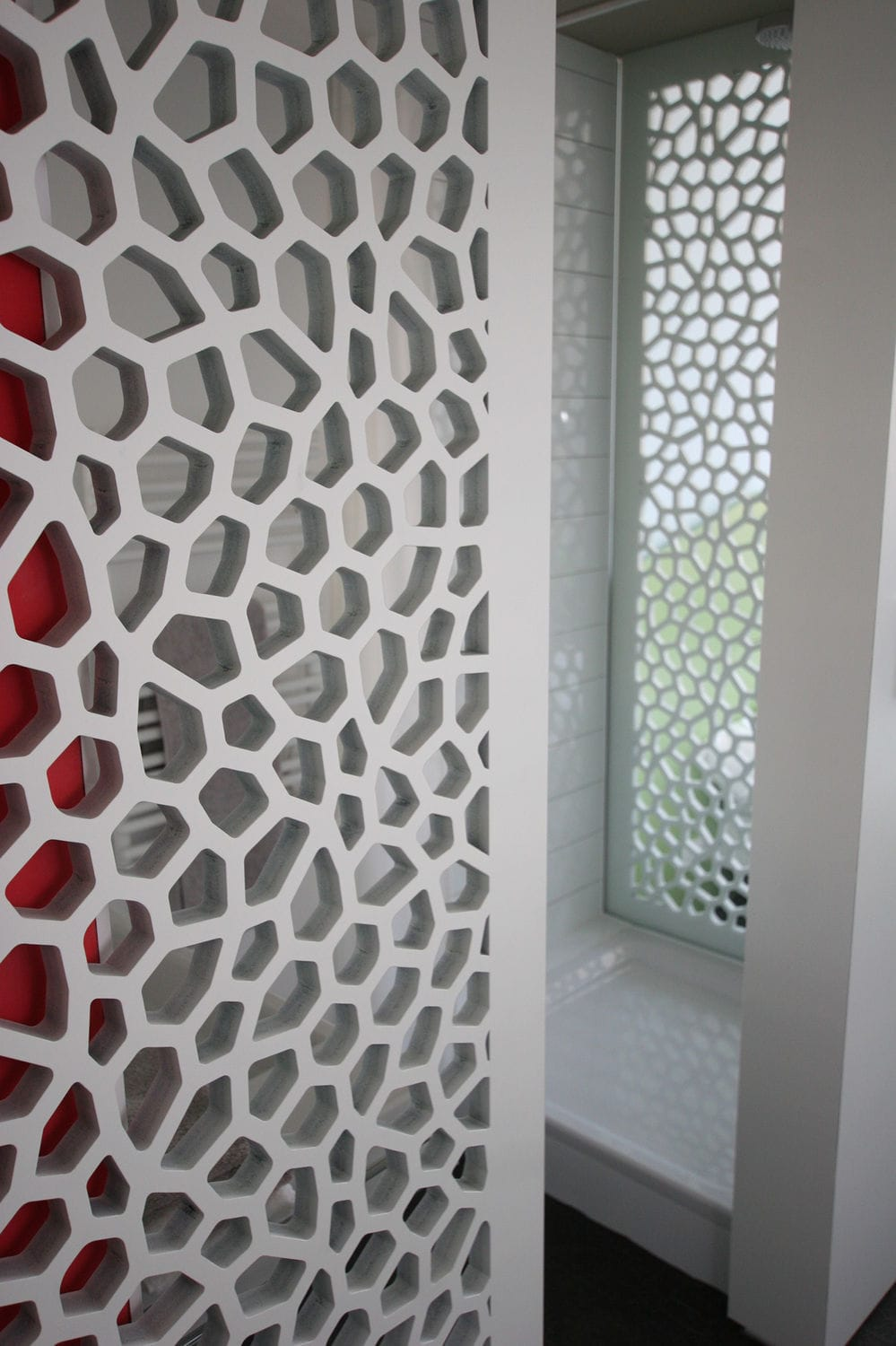 MDF decorative panel / for furniture / for partition walls ...