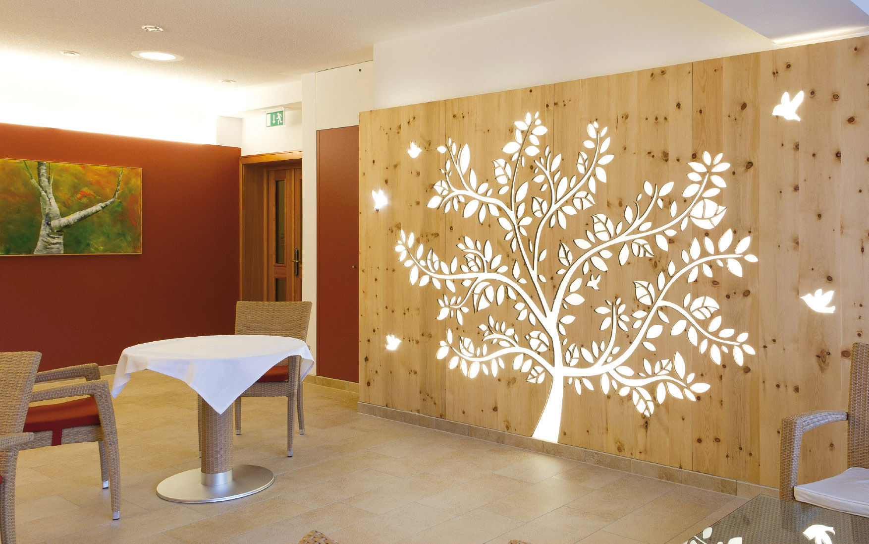 Exceptionnel Wood Decorative Panel / For Partition Walls / Perforated   DORFHOTEL PETER  U0026 KAROLA FASCHING GMBH