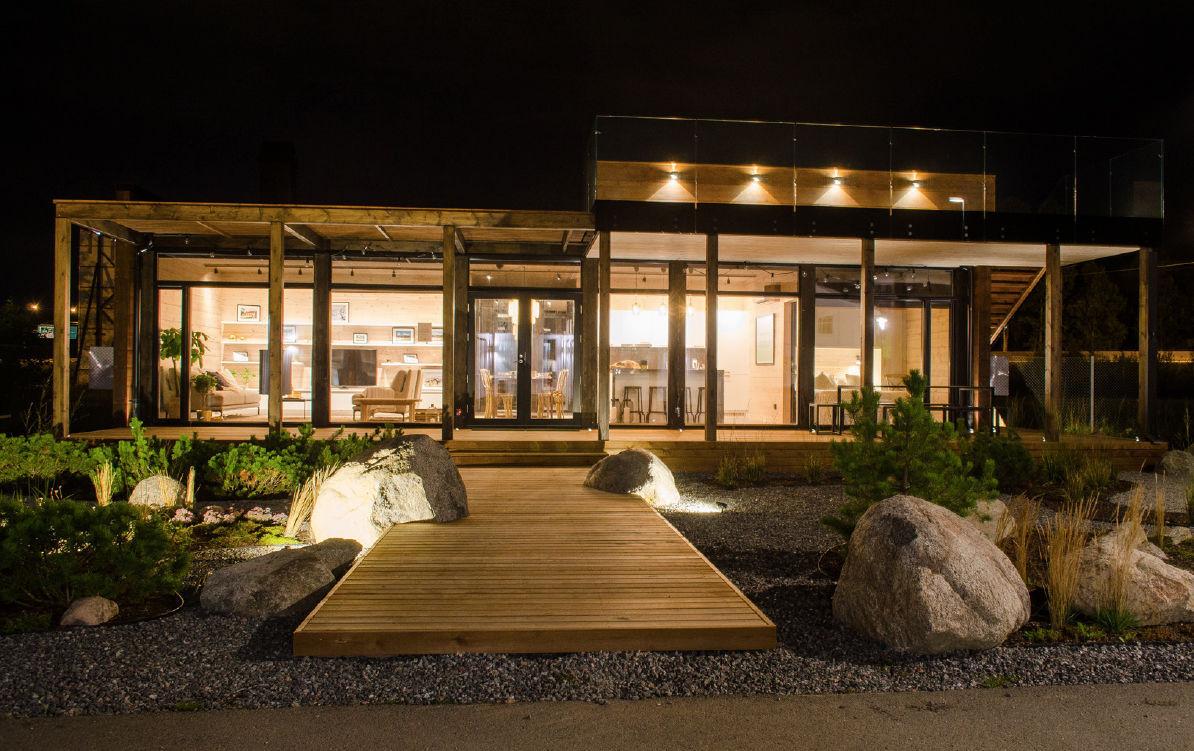 ... Prefab House / Contemporary / Wooden ...