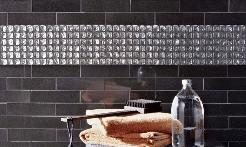 Bathroom Mosaic Tile Wall Gl Geometric 11003