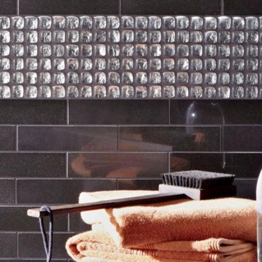 Bathroom Mosaic Tile Wall Gl Geometric