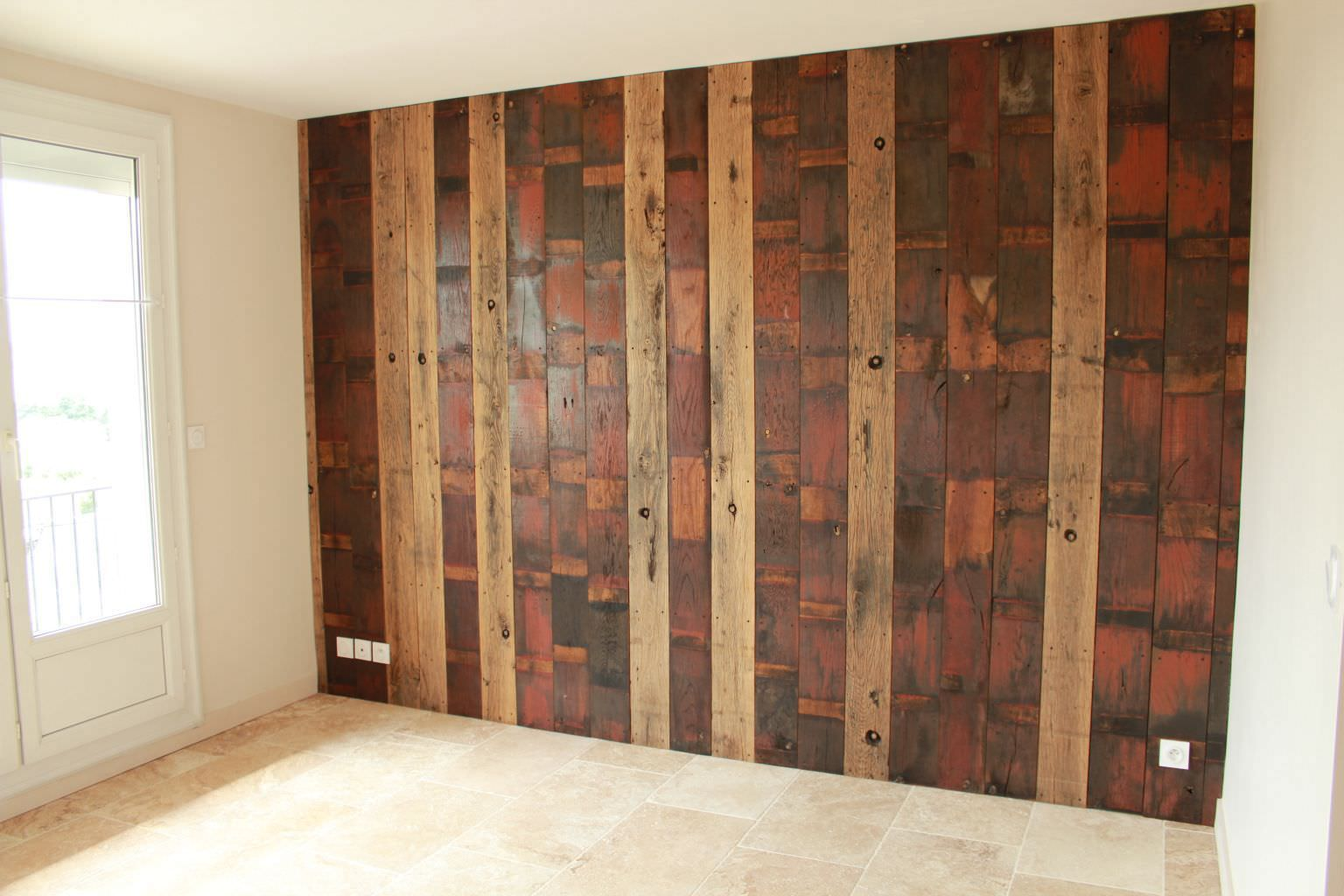 ceiling paneling / wall-mounted / oak / fir - bca materiaux anciens