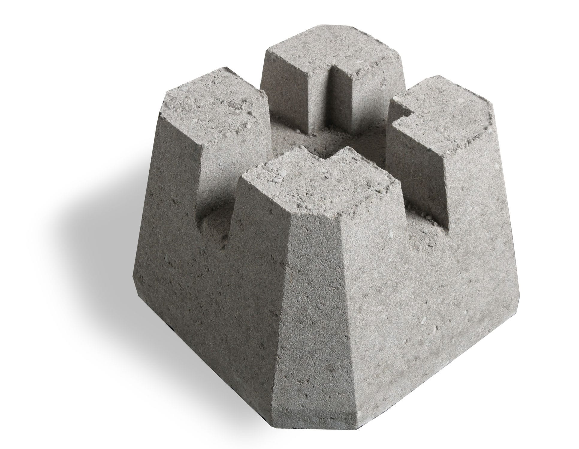 solid concrete block / for pillars / high-resistance - dek-block