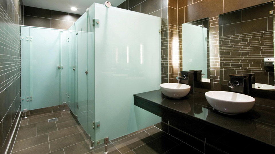 commercial toilet cubicle glass cabrillant prospec