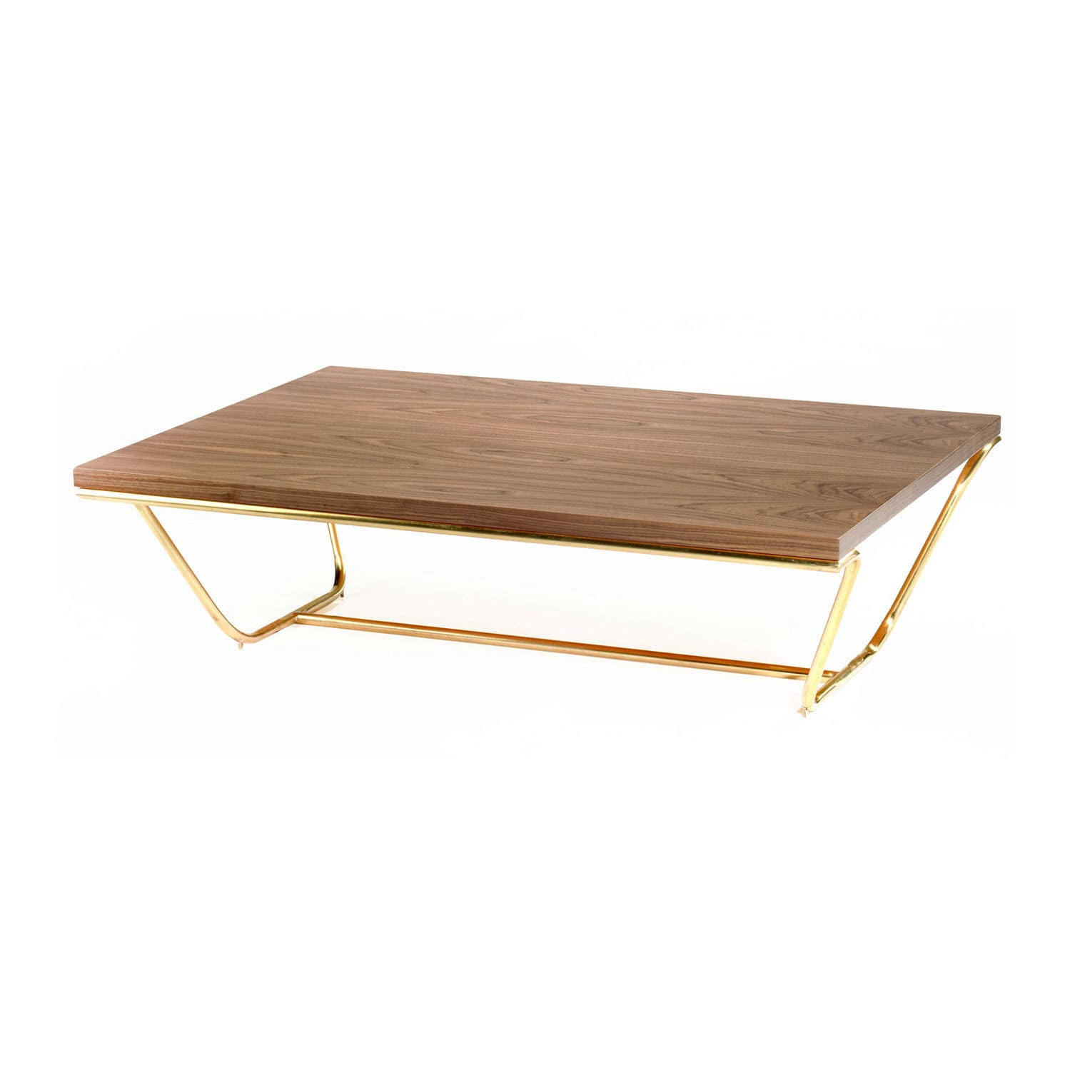 Delightful Contemporary Coffee Table / Walnut / Plywood / Lacquered MDF   SOUL