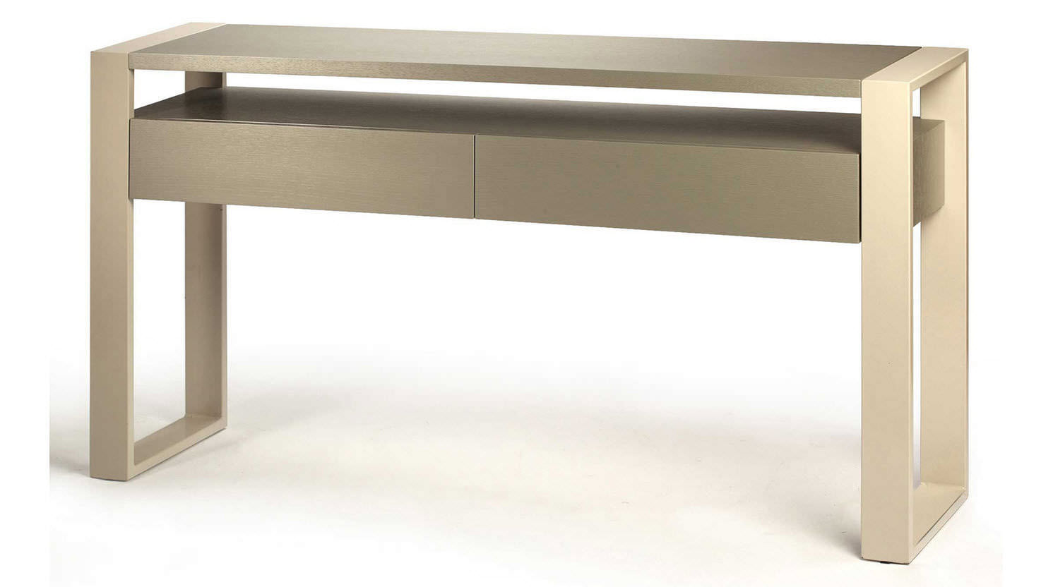 Contemporary console table -  Sideboard Table Contemporary Metal Walnut Iron Mambo Unlimited Ideas