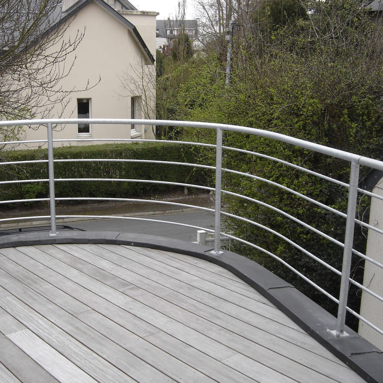 Metal railing / cable / wire mesh / outdoor - CAEN - ESCALIER DESIGN 14