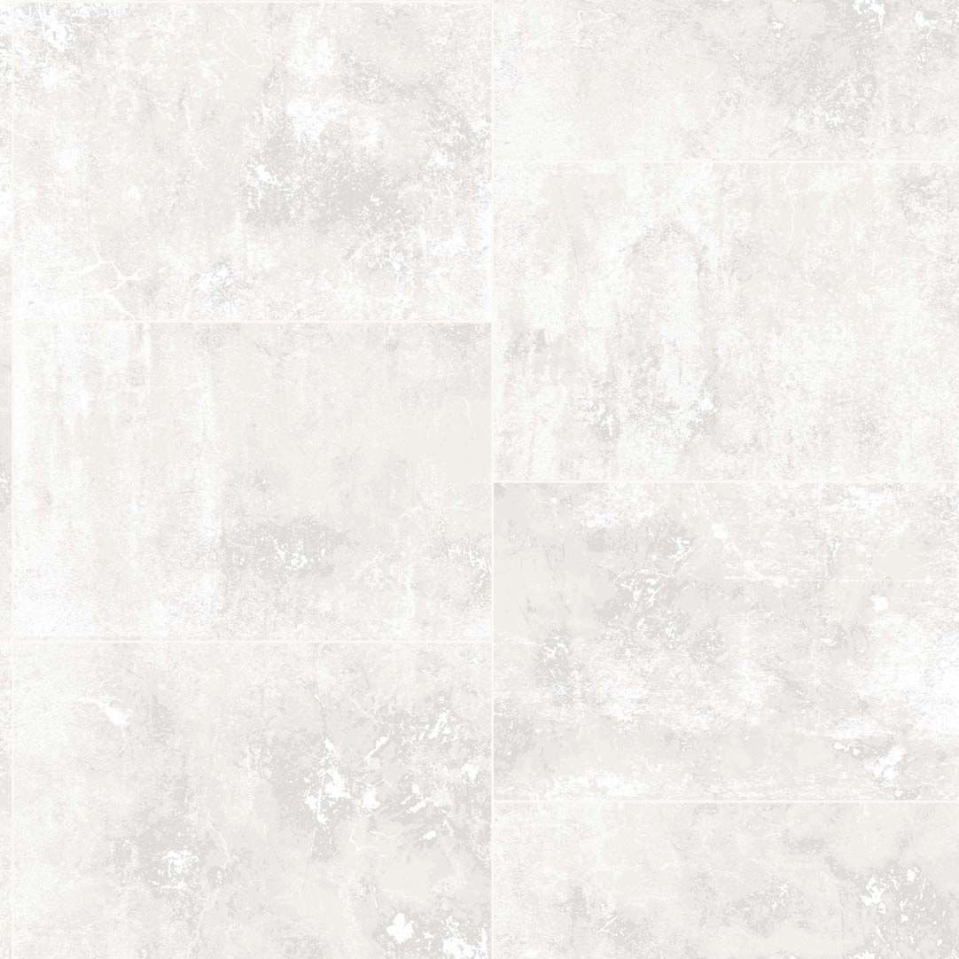 Contemporary wallpaper / geometric pattern / marble effect / tile look - MARBLE  TILES