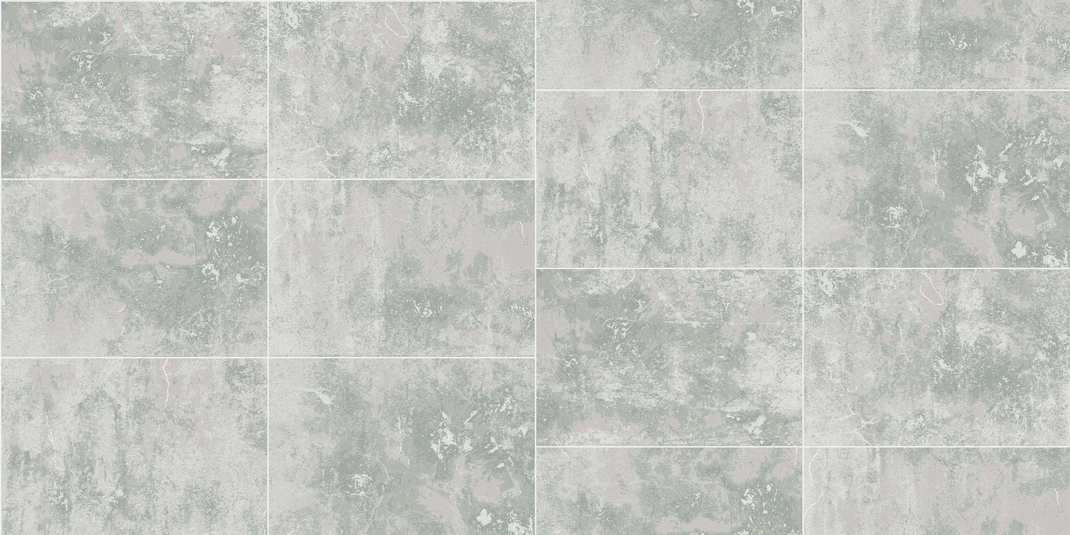 Contemporary wallpaper / geometric pattern / marble effect / tile ...