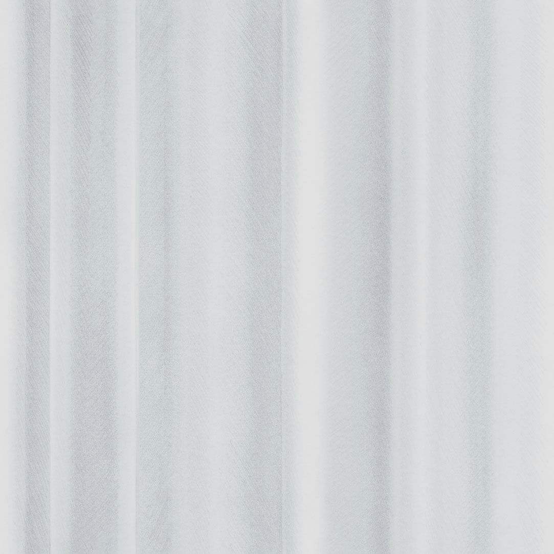 White Curtain Wallpaper -  contemporary wallpaper patterned fabric look 3d effect drapery by front eco