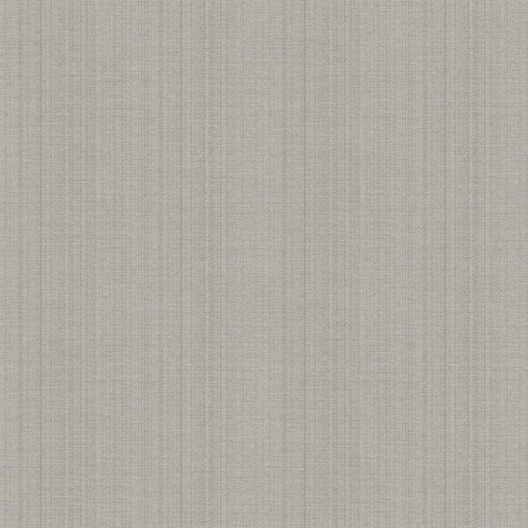 Contemporary wallpaper / striped / fabric look / white - FABRIC ...