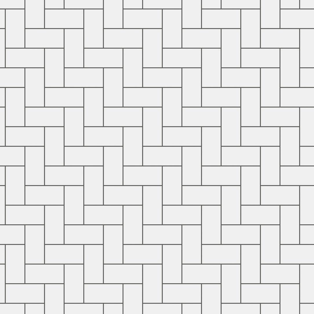 Contemporary Wallpaper Geometric Pattern Imitation Brick White