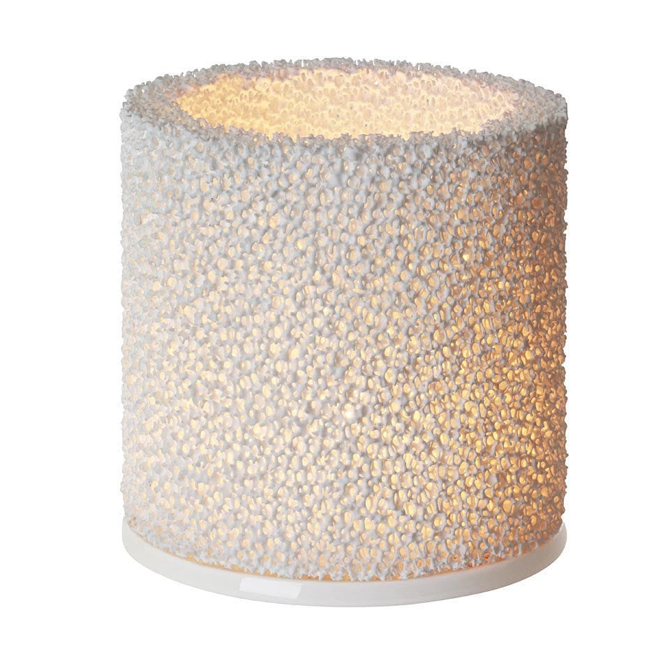 ceramic candle holder  fire by nathalie lahdenmäki  iittala - ceramic candle holder  fire by nathalie lahdenmäki