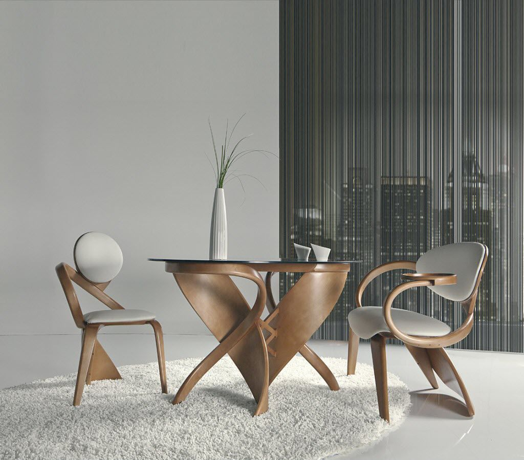 Table A Manger Ronde Design Acp37