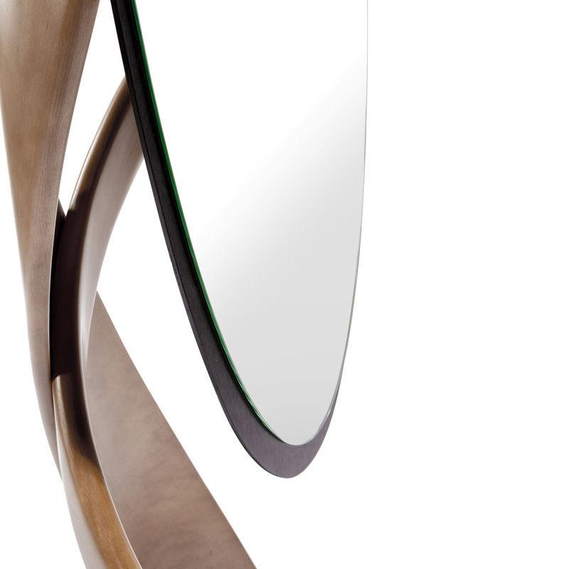 Floor-standing mirror / tilting / contemporary / oval - VIRTUOS ...