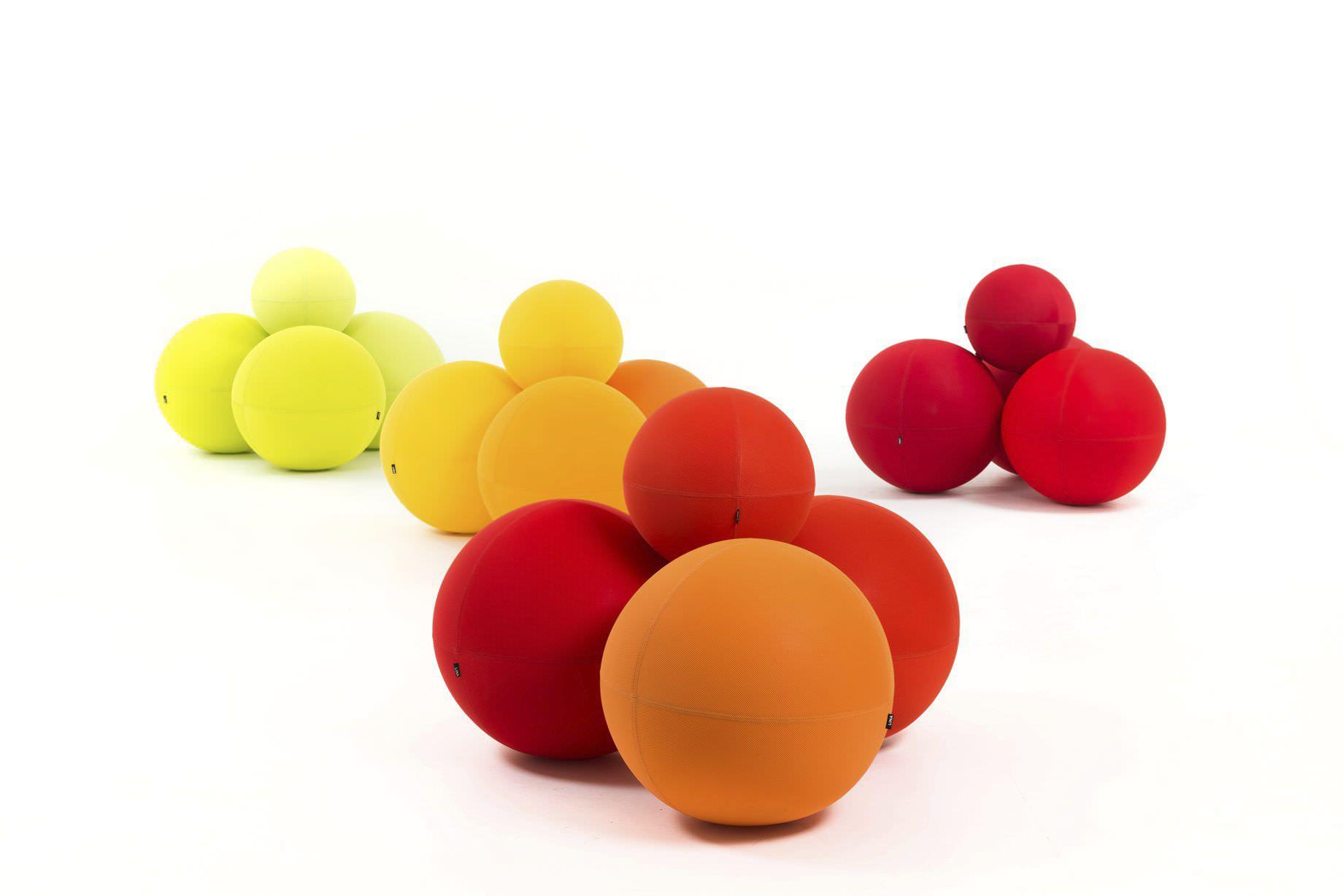 Genial Original Design Pouf / Fabric / Round / Modular. THE BALL LINA Furniture