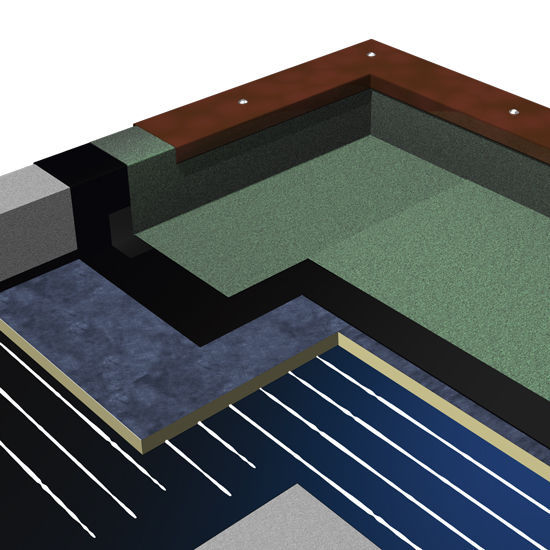 ... Thermal Insulation / Polyisocyanurate (PIR) Foam / For Flat Roofs /  Rigid Panel GT ...