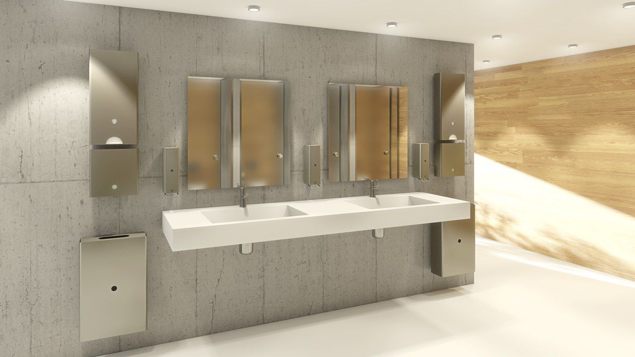 ... Sliding Door Handle / Stainless Steel / Contemporary / With Lock