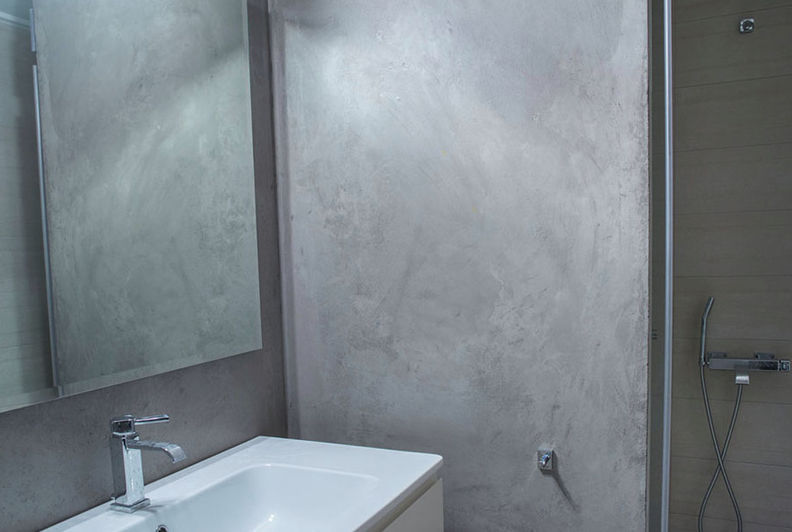 Decorative Coating / Bathroom / For Walls / Lime   LAVAFINISH BÄDER