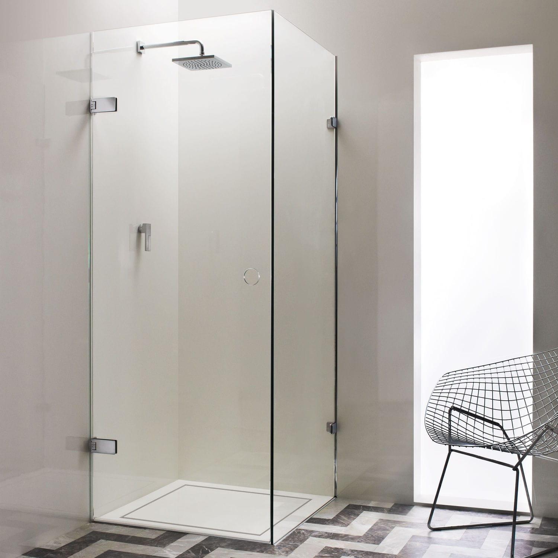 Swing shower screen / corner - CADIZ - Majesctic Showers