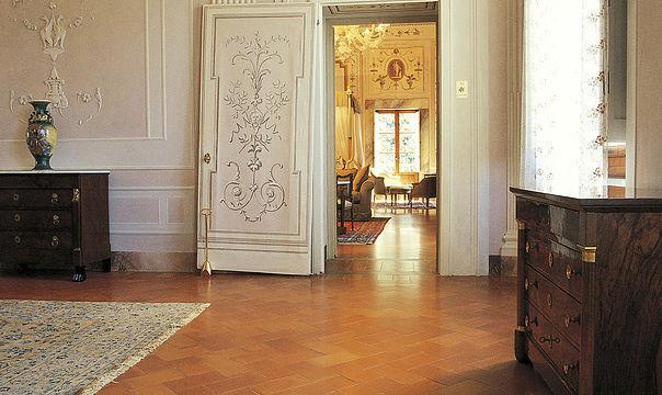 ... Living Room Tile / For Floors / Terracotta / Clay