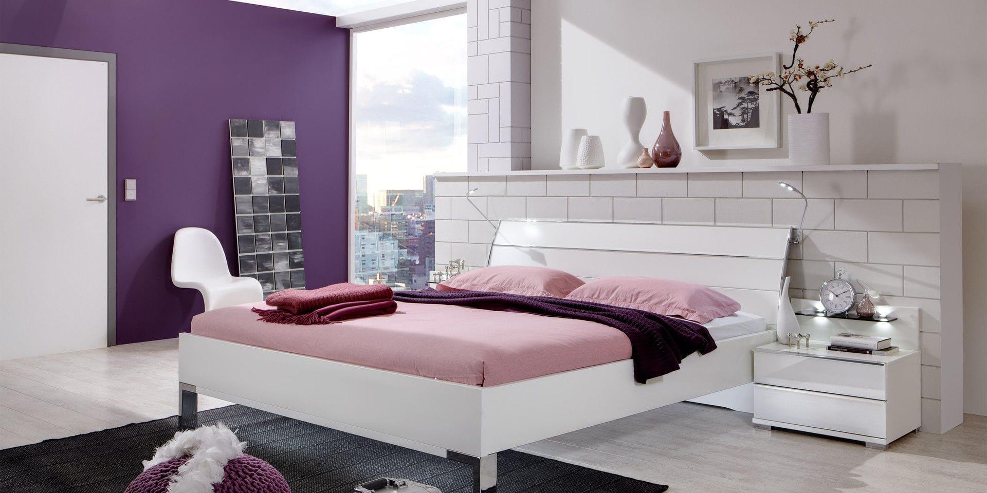 Amazing Double Bed With Lights Wooden Loft Wiemann With Wiemann Loft