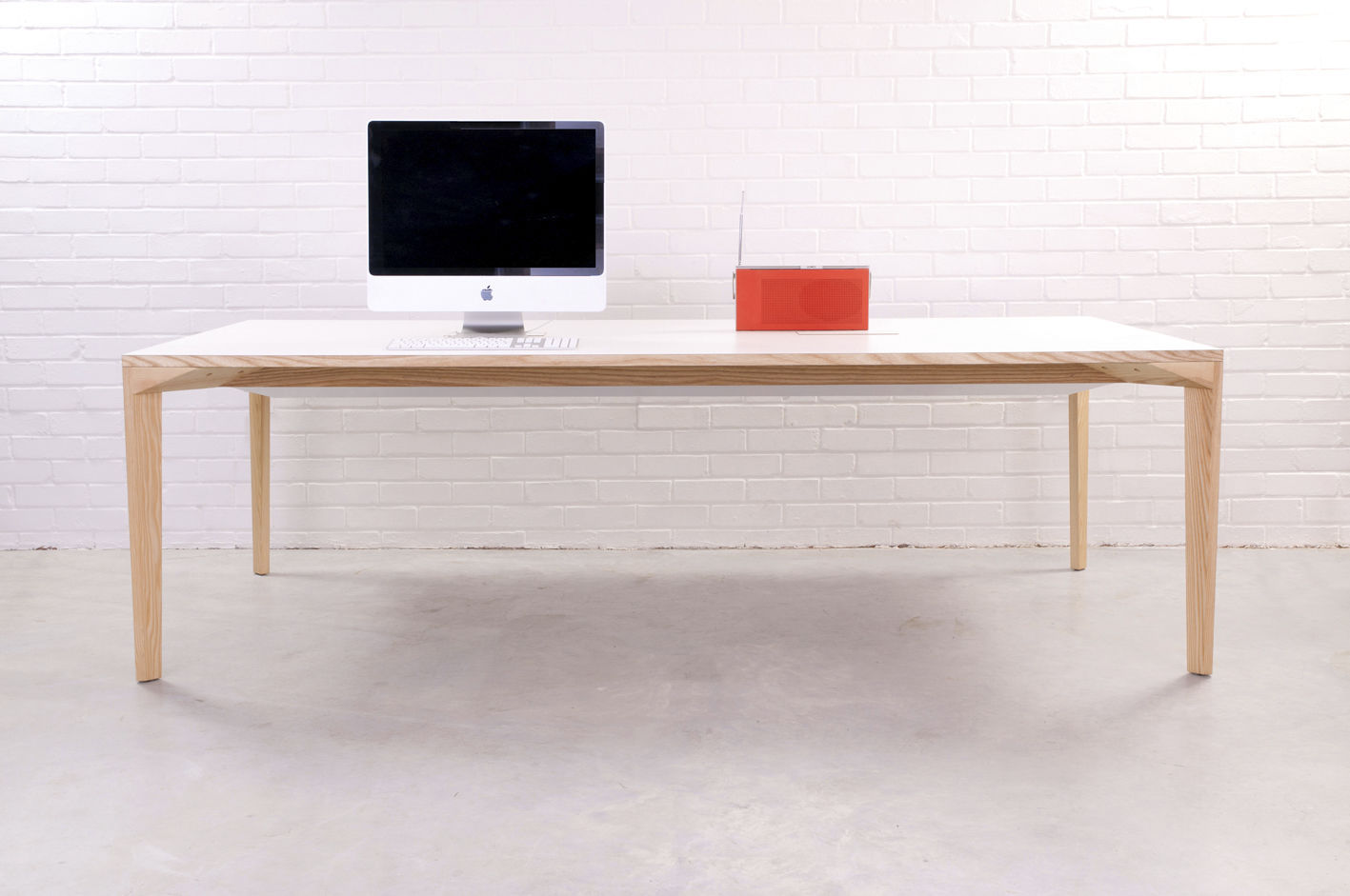 Contemporary Work Table / Wooden / Rectangular / Commercial ISO By Dylan  Freeth MARK ...