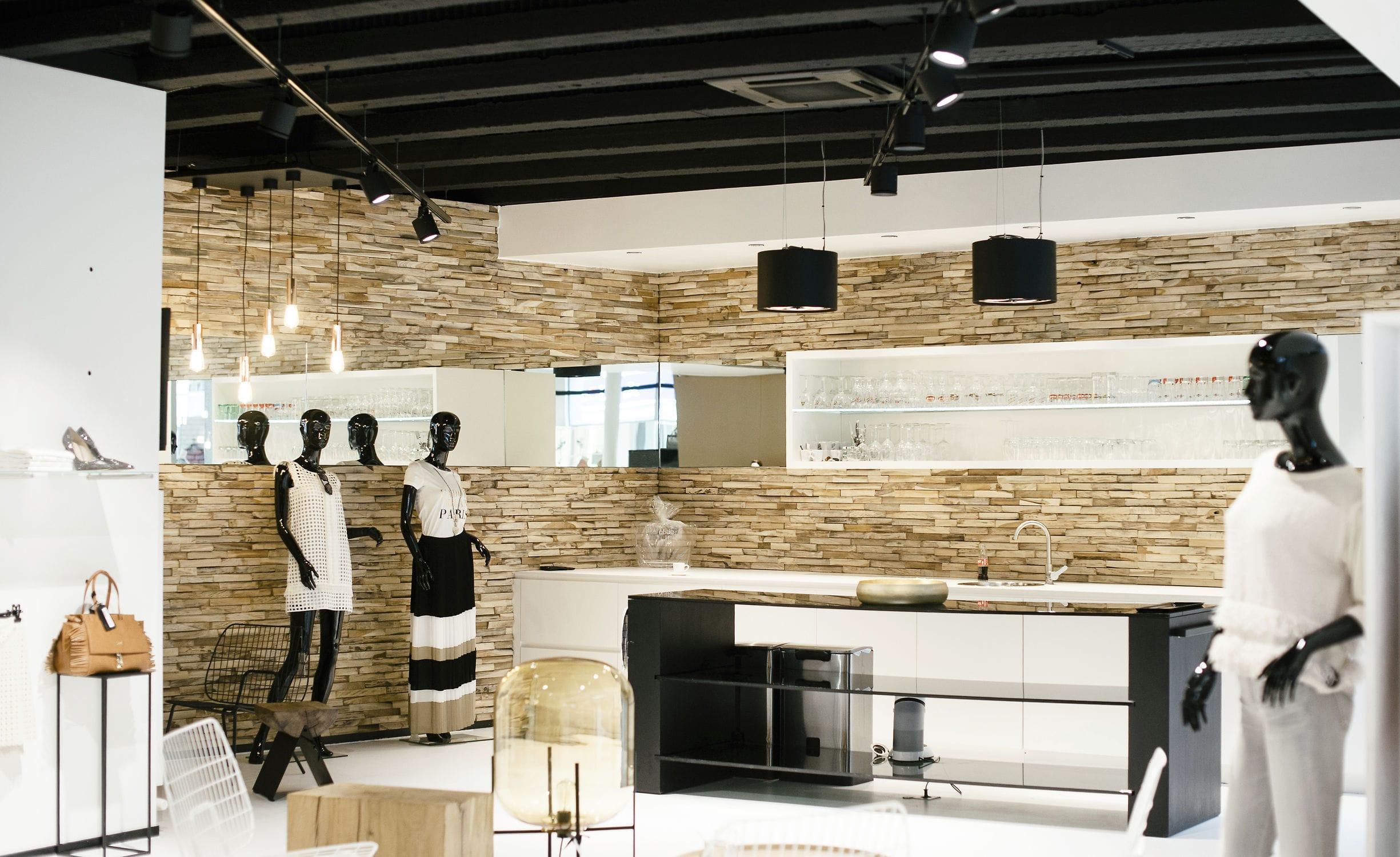 ... Teak Wallcovering / Residential / Commercial / Textured ...