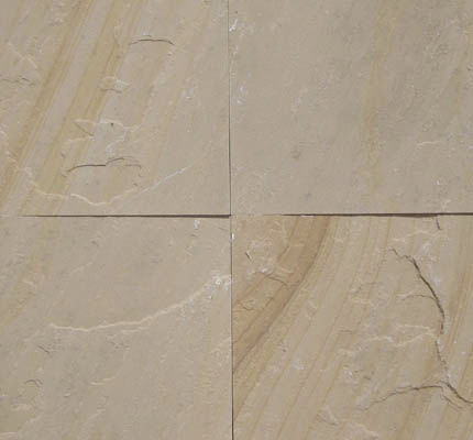 Outdoor Tile Floor Wall Sandstone Golden Buff Classical