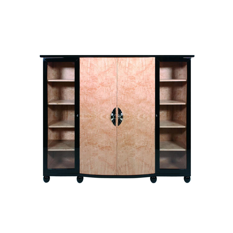 Art Deco wardrobe / wooden / with swing doors / with drawer - SA050  sc 1 st  ArchiExpo & Art Deco wardrobe / wooden / with swing doors / with drawer ... pezcame.com