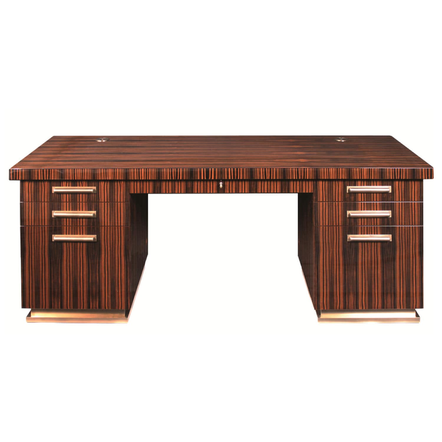 Macassar Ebony Desk Art Deco D028