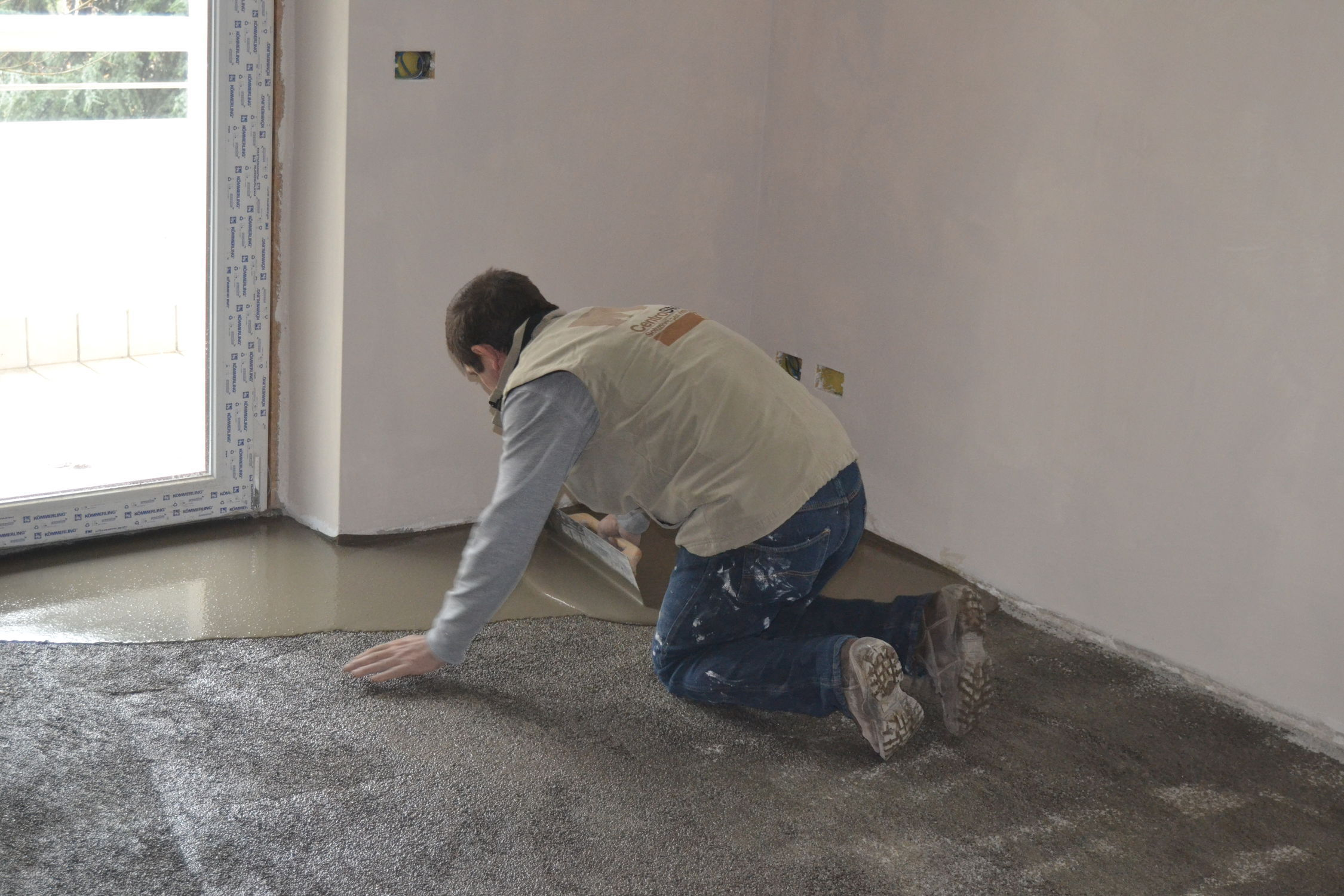 Self Leveling Mortar For Concrete Flooring Screed Quick Set