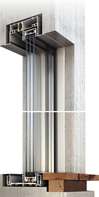 ... Sliding Patio Door / Aluminum / Triple Glazed